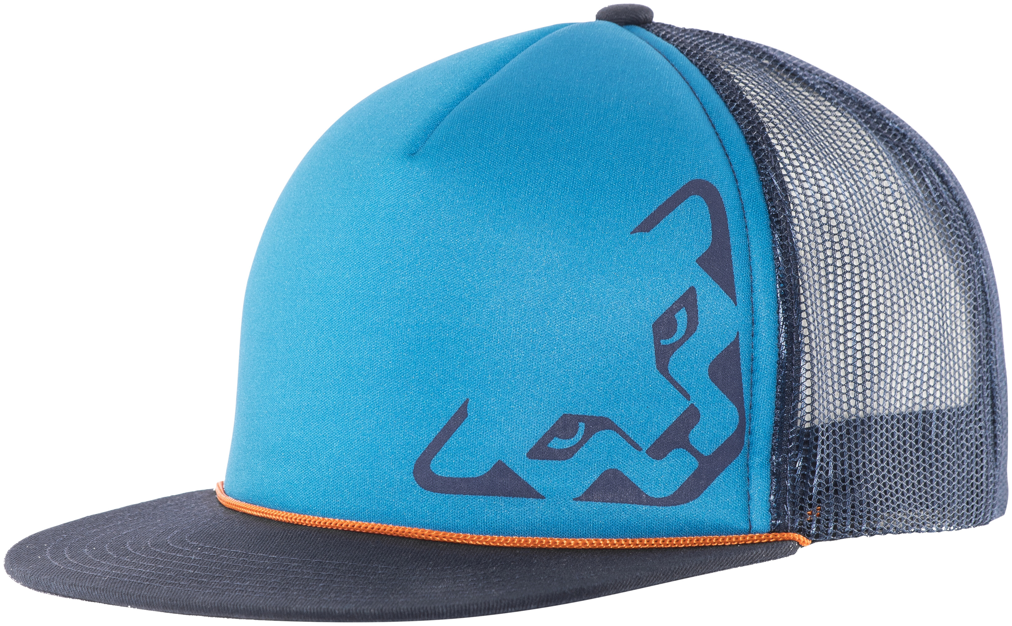 dynafit trucker 3 headwear blue  turquoise at addnature co uk